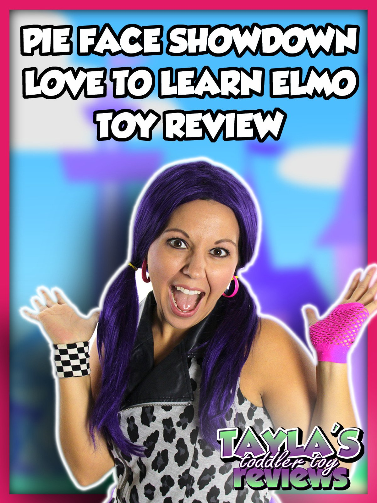Review: Pie Face Showdown and Love To Learn Elmo Toy Review