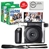 Fujifilm INSTAX Wide 300 Camera and 2 x Instax Wide Film Twin Pack - 40 Sheets (Color: Wide Film, Tamaño: Wide Film)