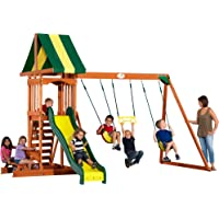 Backyard Discovery Prestige Wood Swing Set