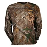 Gamehide ElimiTick Long Sleeve Tech Shirt (Color: Realtree Xtra, Tamaño: Large)