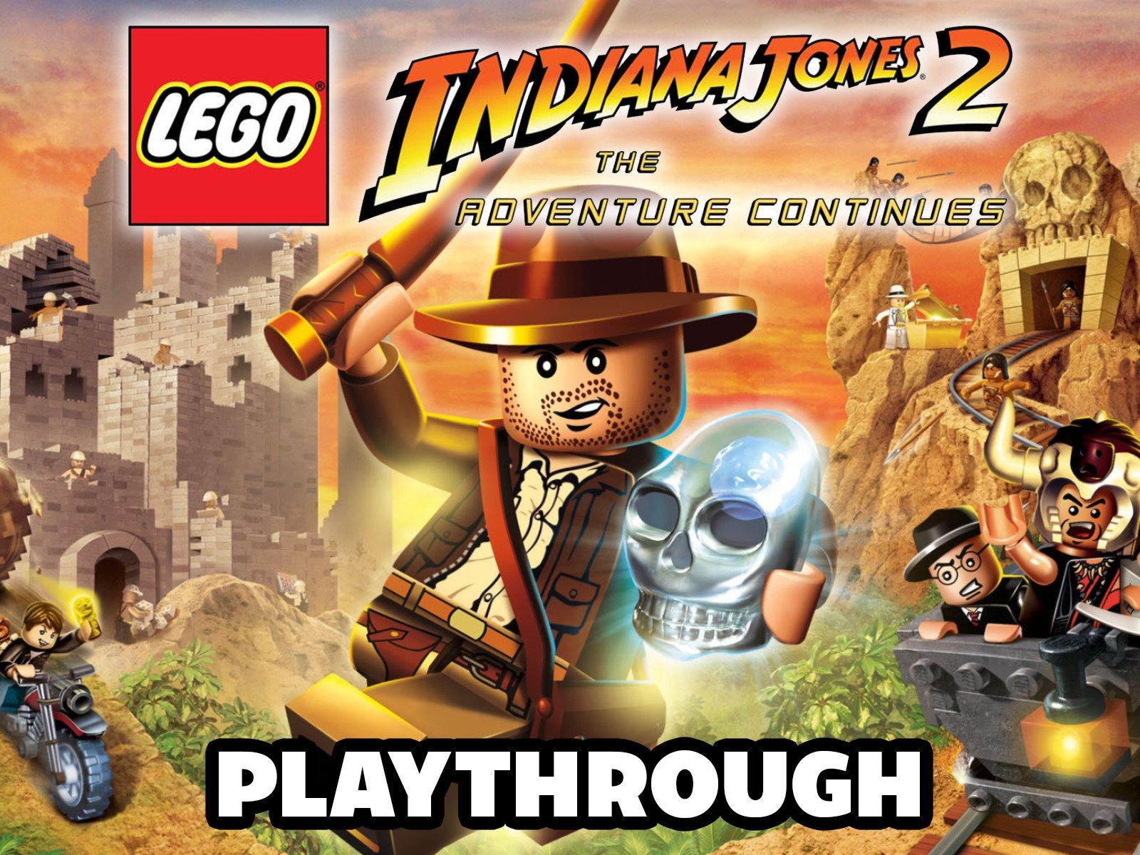 Clip: Lego Indiana Jones 2 The Adventure Continues Playthrough - Season 1