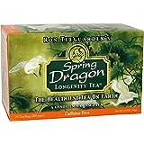 Dragon Herbs Spring Dragon Longevity Tea Caffeine Free -- 20 Tea Bags (Tamaño: 1-pack)