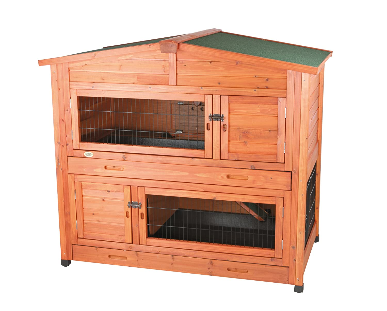 Sell everything 2 story rabbit hutch with attic for 2 rabbit hutch