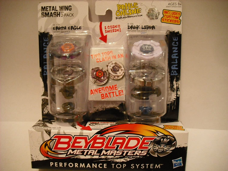 Beyblade Metal Masters Earth Eagle & Dark Libra 39457 online bestellen