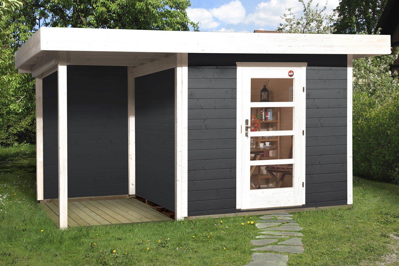 Weka Gartenhaus Lounge 2 Größe 2 anthrazit jetzt kaufen