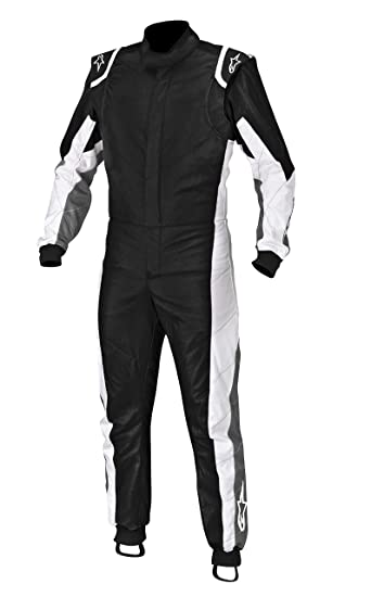 ALPINESTARS 3351013-140 Combinaison Kart, Noir/Anthracite/Blanc, Taille : 50