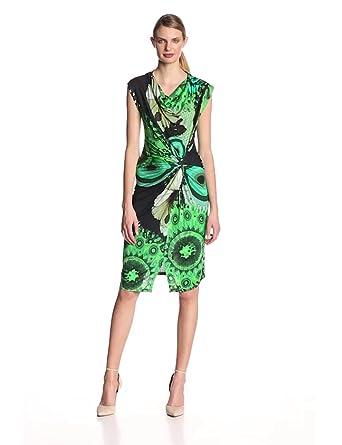 Desigual Women's VEST_URALET_40V2148 Dress Green - Grün (Verde Mckennan) 10 (Brand size: S)