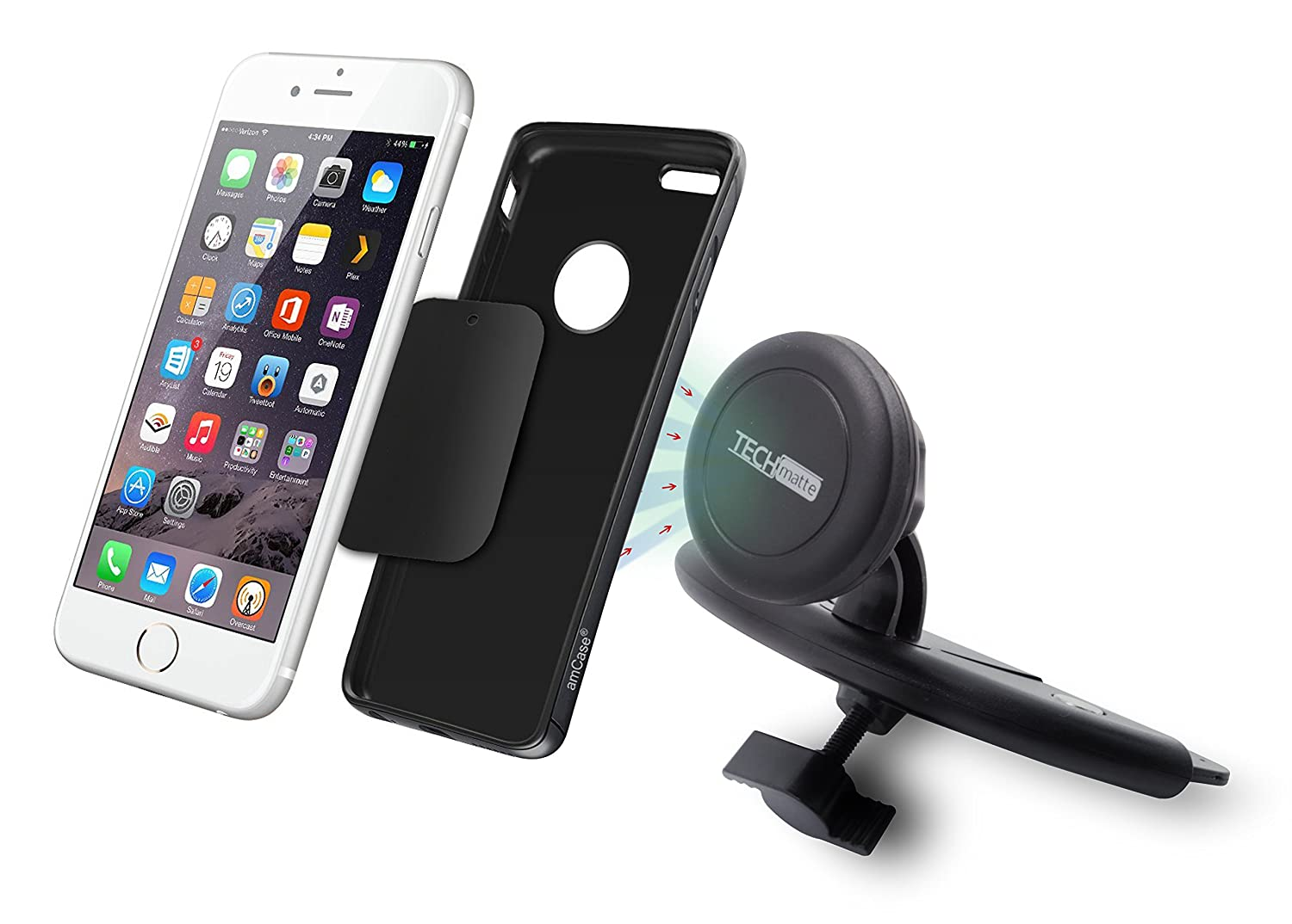 Magnetic car mount cell phone holder 3