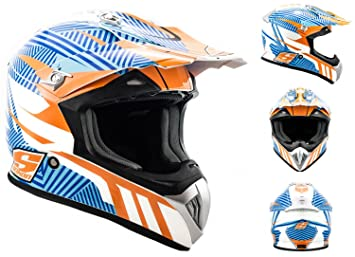 SOXON SX-419 Speed mix - moto cross enduro quad Int_gral Taille: XS S M L XL