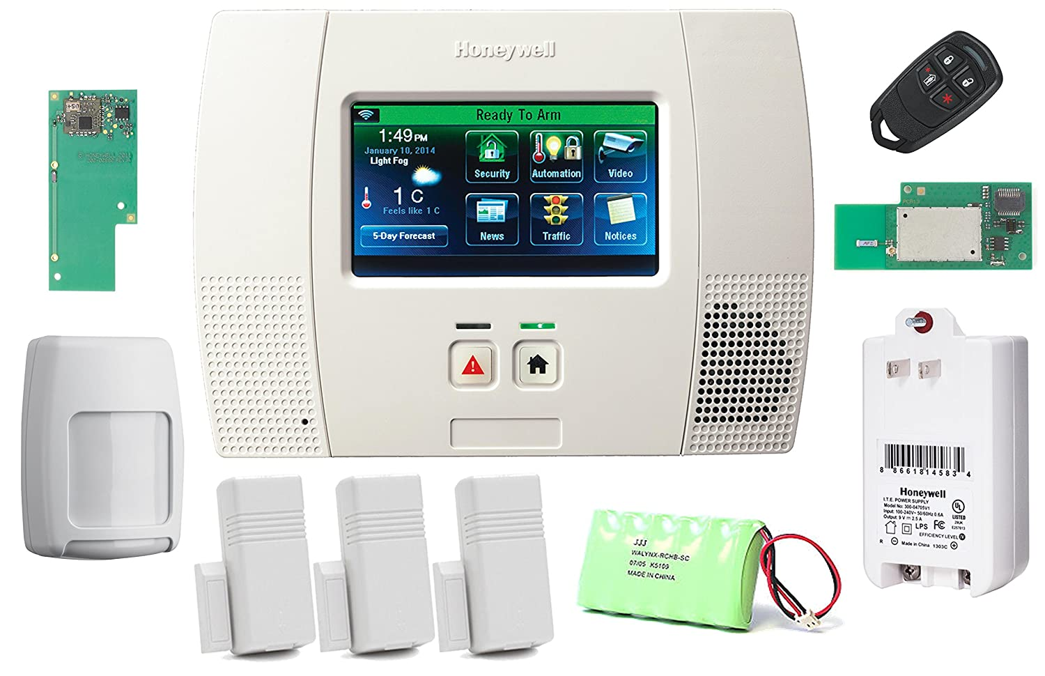 Honeywell Home Security Systems Amazon