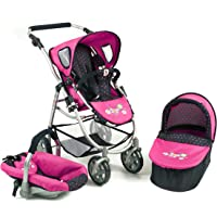 Bayer Chic 2000 637 3 in 1 Combi Emotion (Blue/Pink)