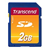 Transcend 2 GB SD Flash Memory Card TS2GSDC