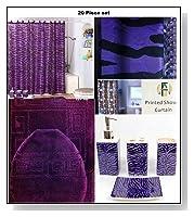 Purple Bathroom Accessory Set image