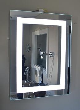 "Lighted Medicine Cabinet - 24""w x 36""t - lighted door - commercial grade"