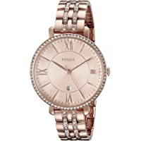 Fossil Womens Jacqueline Rose Rose Dial Watch