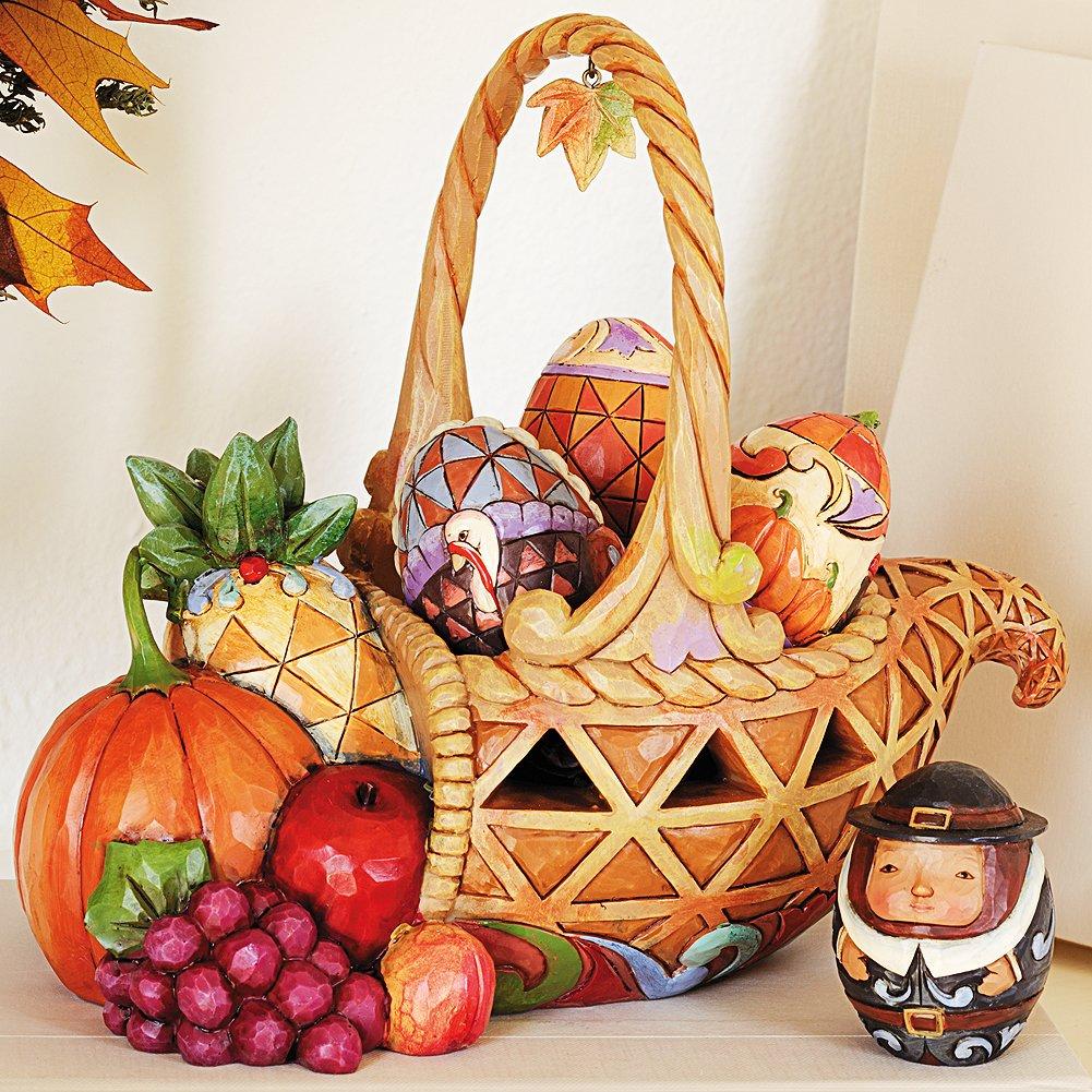 Autumn Cornucopia Basket