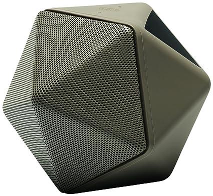 Binauric Boom Boom - Design Bluetooth Konferenz Lautsprecher by Mathieu Lehanneur [Sprachfuhrung | 3D-Mikrofon | Aufnahmegerät | 15 Stunden Musik-Wiedergabe   kostenfreie App]