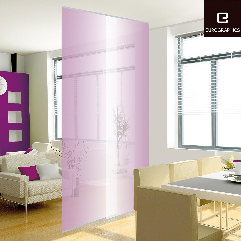 deco home raumteiler twin set purple farbverlauf lila wei. Black Bedroom Furniture Sets. Home Design Ideas