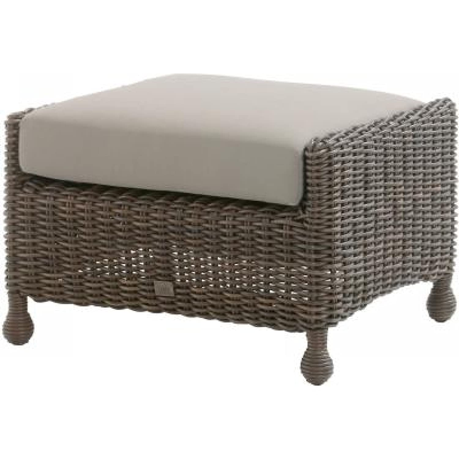 4Seasons Outdoor Madoera Fußhocker Polyrattan colonial