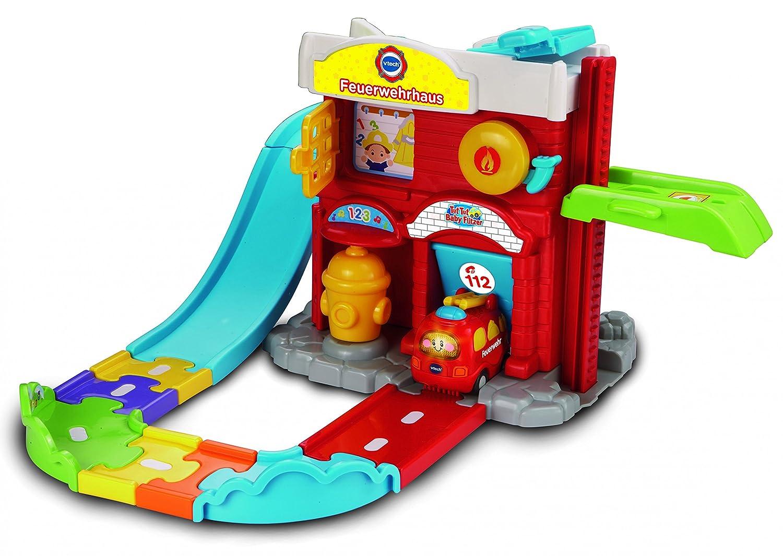 VTech 80-152814 – Tut Tut Baby Flitzer – Feuerwehrhaus günstig als Geschenk kaufen