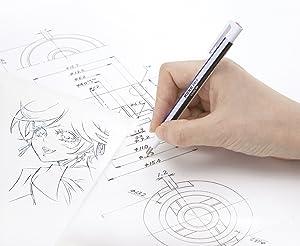 Tombow : Mono Zero Eraser Pen : Round Tip : Black Barrel