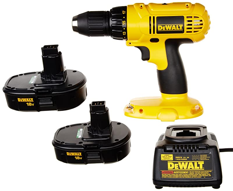 DEWALT DC970K-2 18-Volt Compact Drill/Driver Kit via Amazon