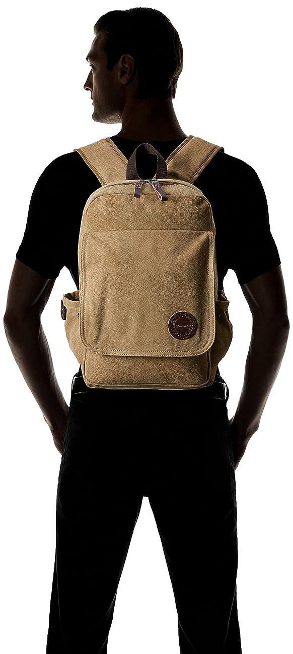 Zebella Vintage Canvas Backpack for Laptop School Rucksack Weekender Daypack Bag 3