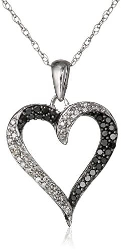 10k-White-Gold-Black-and-White-Diamond-Heart-Pendant-Necklace-1-3-cttw-18-
