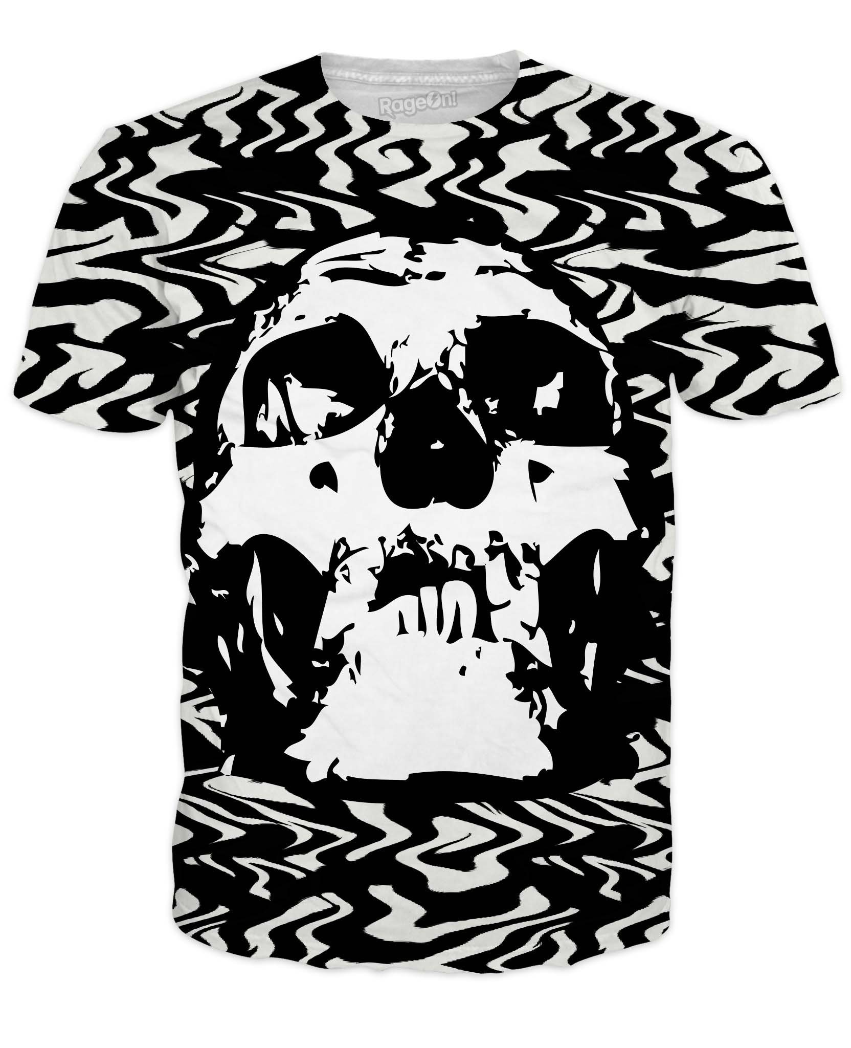 Men's Trippy Skull T-Shirt
