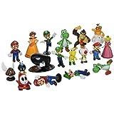 BIGOCT Super Mario Brothers Action Figures Set (18 Piece), 2
