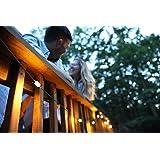 MPOWERD Luci Solar String Lights (Color: Dark grey, teal, Tamaño: One Size)