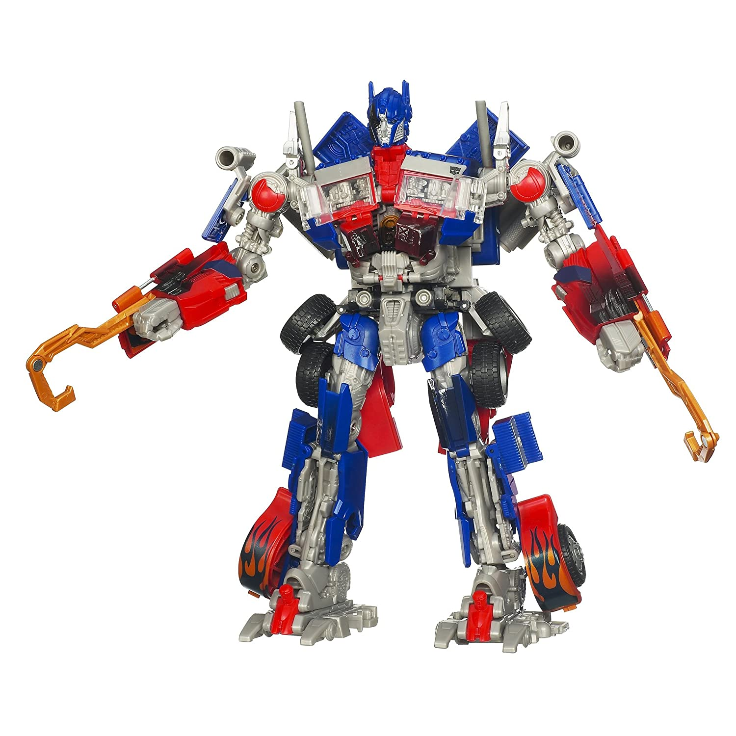 TRANSFORMERS – HUNT FOR THE DECEPTICONS – Leader Class: OPTIMUS PRIME – Level 5 – Hasbro kaufen