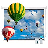 Cloud Mountain Electric Projector Screen 100