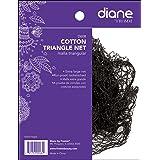Diane Cotton Triangle Net, Black (Color: Cotton, Tamaño: 1 pack)