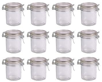 einmachglas vorratsglas mit b gelverschluss 300 ml 12 st ck set de104. Black Bedroom Furniture Sets. Home Design Ideas