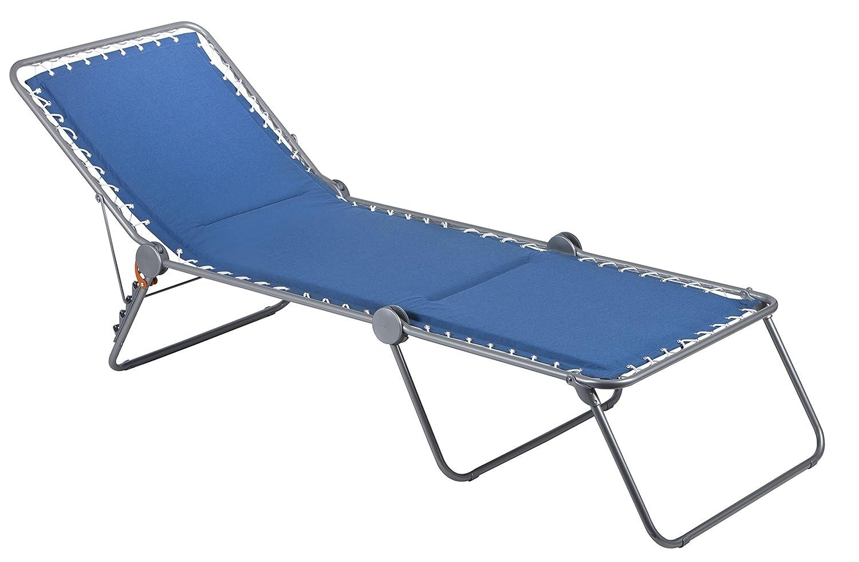 Lafuma LFM2291-7714 Sonnenliege, klappbar mit verstellbarem Rückenteil, Siesta L, blau bestellen
