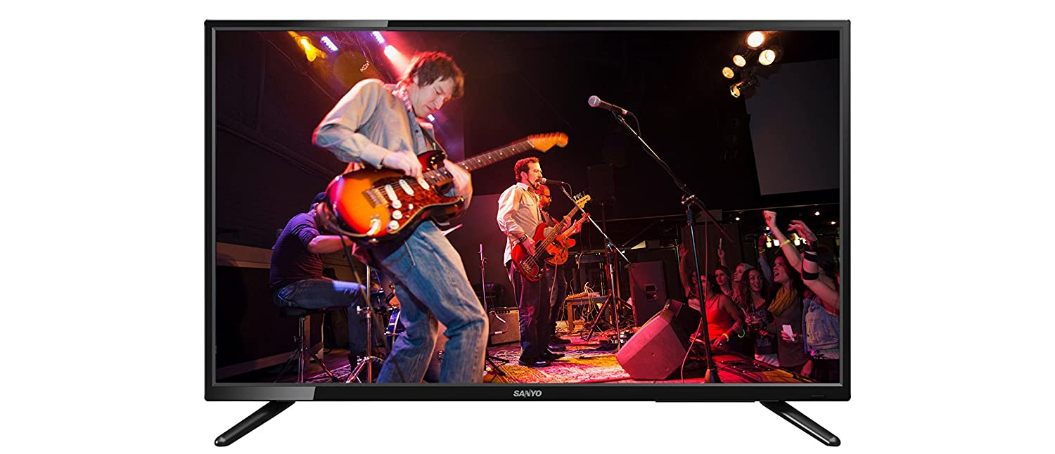 Amazon Exclusive!! Minimum 30% Off On Sanyo Full HD TVs By Amazon | Sanyo 81 cm (32 inches) XT-32S7100F Full HD LED TV (Black) @ Rs.15,990