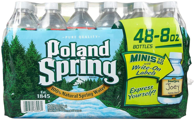 Poland Springs Water Bottle Sizes Poland Spring Spring Water 8