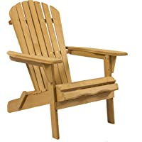 Outdoor Adirondack Wood Chair