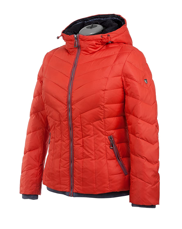M105 VLASTA Snowimage Plus SIZE Damen Daunenjacke Sportjacke Outdoor Comfort Größen Farbe: orange kaufen