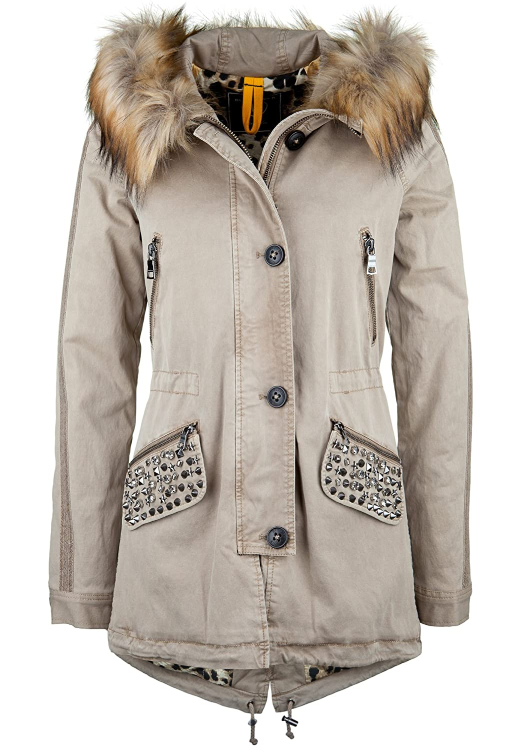 BLONDE No. 8 Parka GSTAAD BLING 316