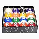 T&R Sprorts Deluxe Billiards Pool Ball Set - Regulation Size 2-1/4