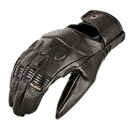 V Quattro Design V4G-MYLORD-BKXXL Gants de Moto Mylord Noir Taille XXL