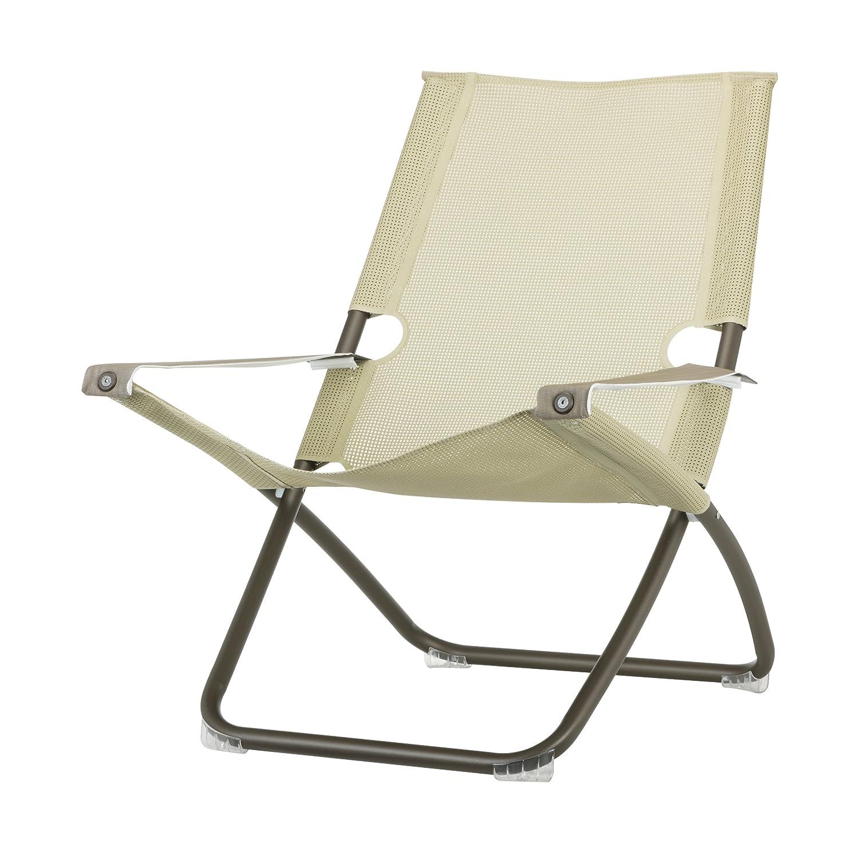 Snooze Liegestuhl indischbraun/beige günstig kaufen