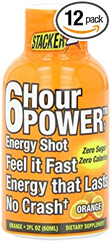 Отзывы Stacker 6 Hour Power Energy Shot, 2 Ounce Bottles (Pack of 12)