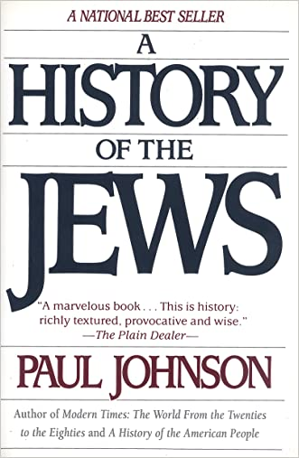 History of the Jews written by Paul Johnson