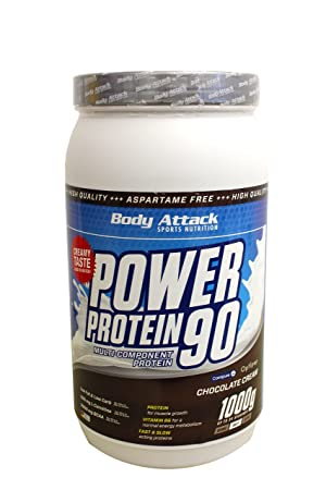 Body Attack Power Protein 90 Schoko, 1er Pack (1 x 1 kg)