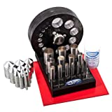 Pepetools 196.10A Premium 14 Piece Disc Cutting Kit (Color: Silver)