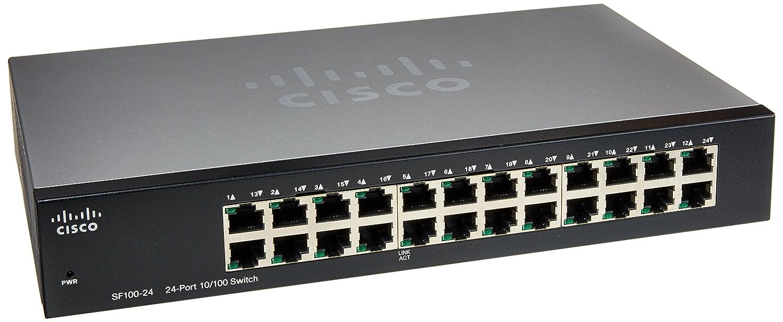 Cisco 24port 10 100 Rack Mount Switch Sf100 24port