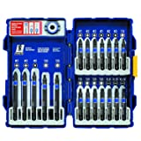 IRWIN Tools IMPACT Performance Series Fastener Power Bits, 20-Piece Set with Pro Case and Magnetic Screw-Hold Attachment (1903766) (Tamaño: 20-Piece)